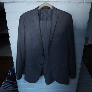 Zara Men's Two Piece Suit SZ 40 Jacket Pants 31